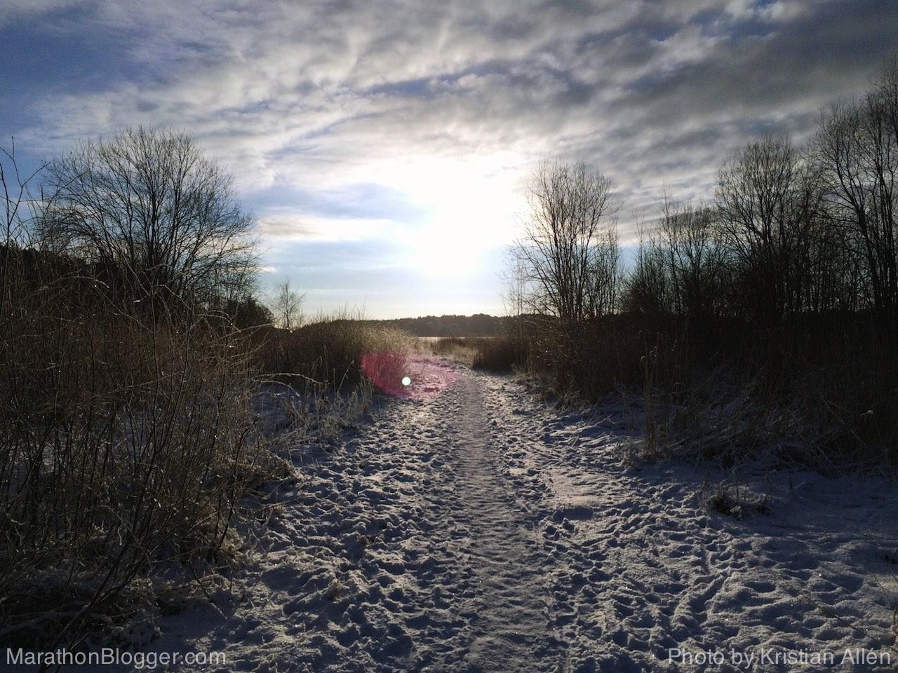 6.1.2015 13.22 km Run