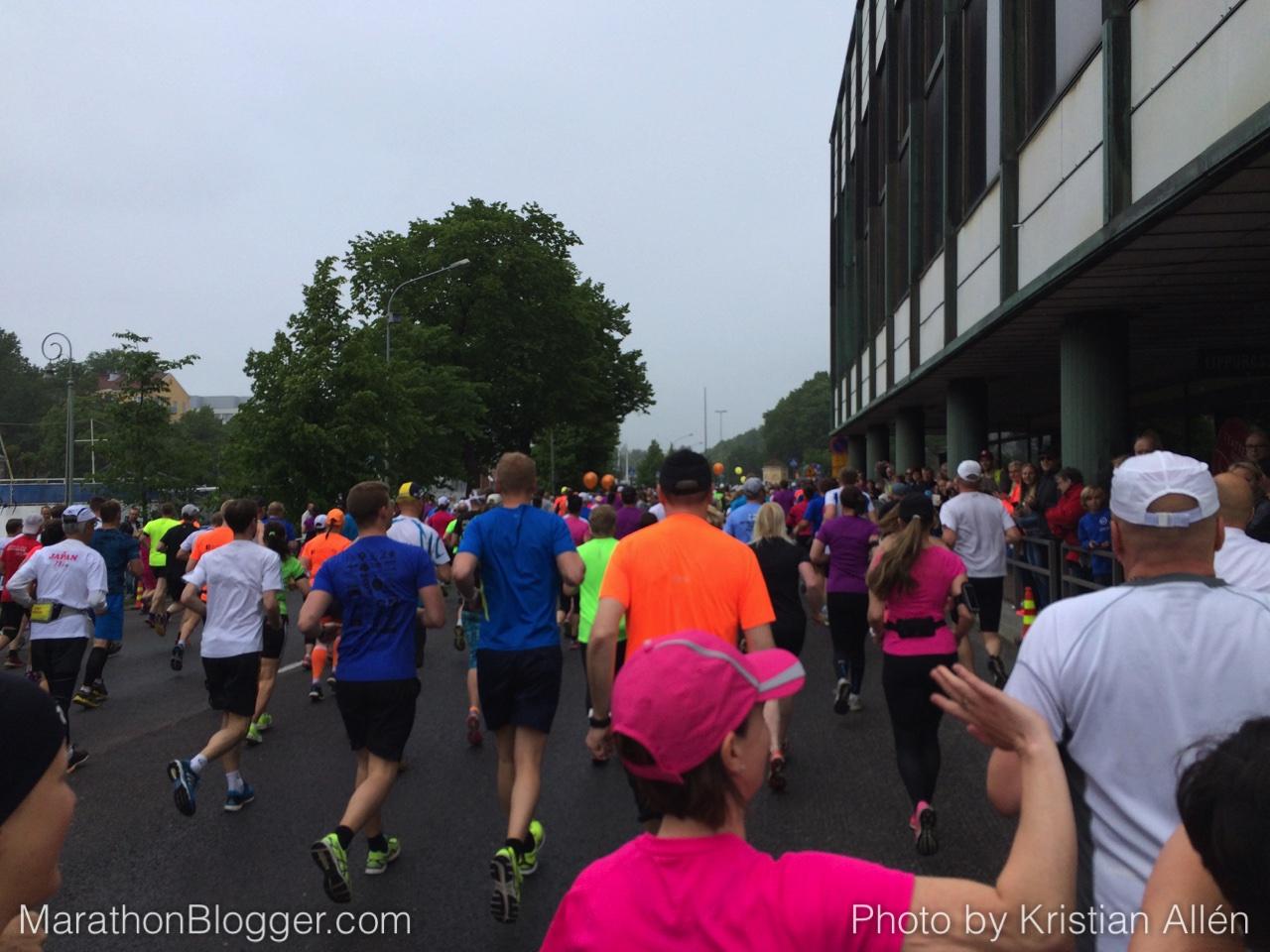 27.6.2015 21.14 km in Paavo Nurmi Marathon