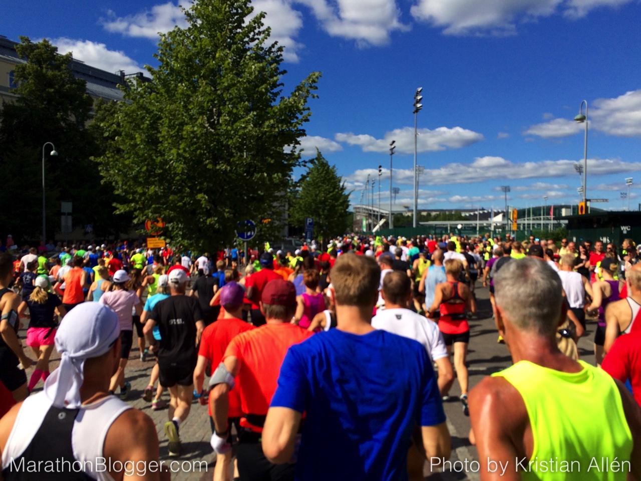 15.8.2015 42.65 km Marathon Run