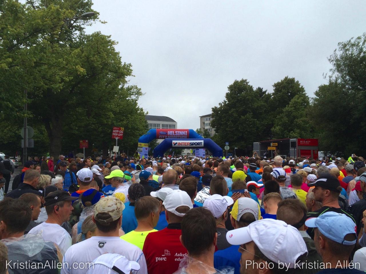 13.8.2016 42.70 km Helsinki City Marathon Run